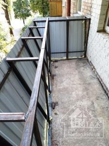Вынос балкона Киев недорого в оконной компании