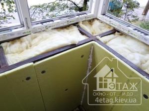 """Балкон с выносом Буча - оконная компания """"4 этаж"""""""