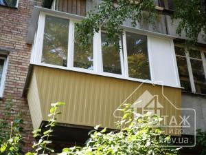 Вынос балкона Киев недорого - компания оконная