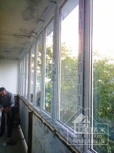 """Установка окон, балконов - оконная компания """"4 этаж"""""""
