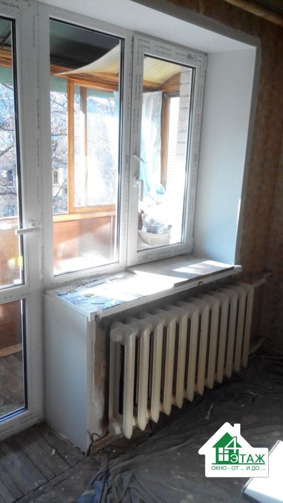 """""""4 этаж"""" Откосы на окна"""