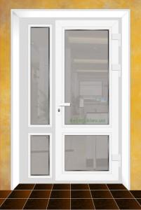 Стоимость качественных полуторных пластиковых дверей