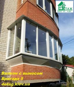 Пластиковые окна на остекление балконов