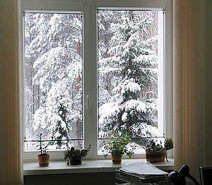 пластиковые окна Киев зимой