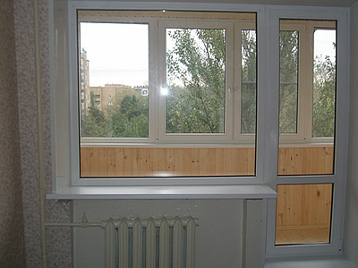 Купить балконный блок ПВХ