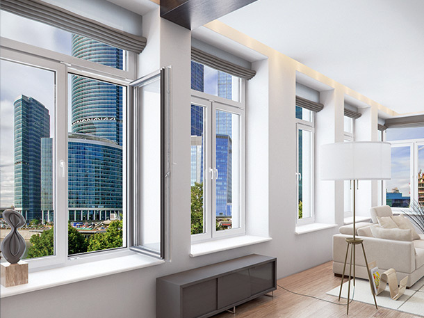 металлопластиковые окна с фрамугой