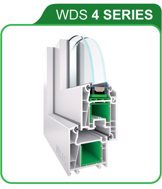 Окна металлопластиковые WDS 404