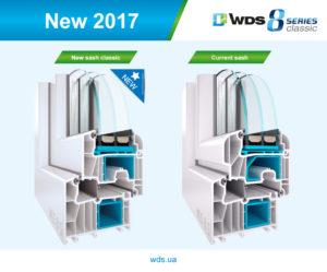 Пластиковые окна WDS 8 series (WDS 8 серии)