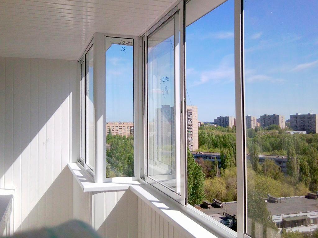 Остекление балкона под ключ Бортничи