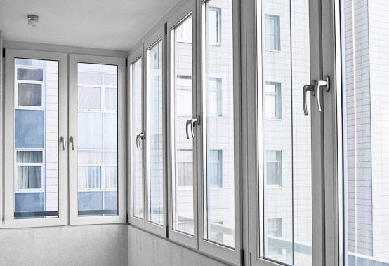 остекление балкона в Буче