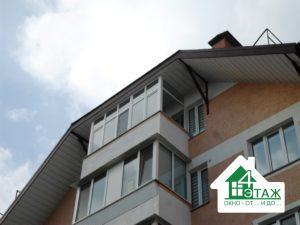 Остекление балкона Буча недорого - оконная компания