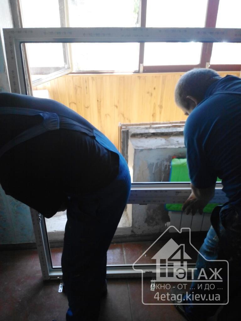 """Установить окна Киев быстро, качественно и недорого. Фирма """"4 этаж Окно От и До"""""""