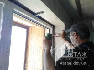 Монтаж окна ПВХ в Киеве - компания