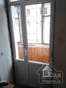 Купить балконные двери Киев цены в компании 4 этаж