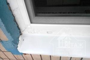 Герметичное примыкание москитной сетки к окну