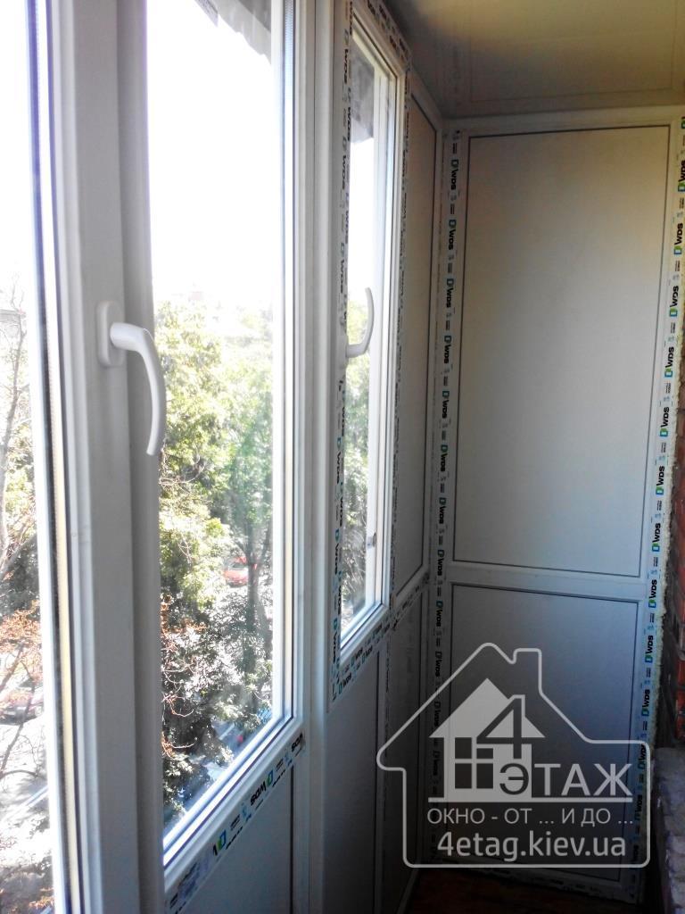 """Остекление балконов в киеве, доступные цены от компании """"4 э."""
