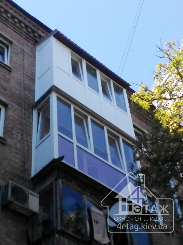 Французский балкон киев цены. застеклить французский балкон .