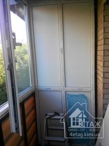 Застеклить балкон с обшивкой сайдингом