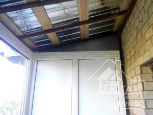 Устройство крыши на балконе - компания