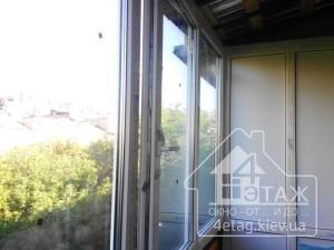 Купить окна в Киеве для остекления балконов разными способами