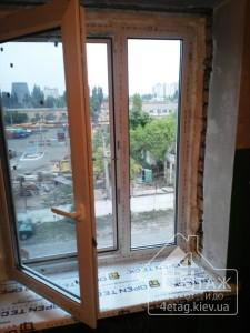 Качественные пластиковые окна Rehau от компании 4 этаж