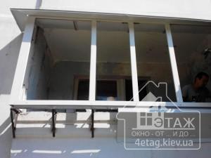 Цены на вынос лоджий в Киеве - компания 4 этаж