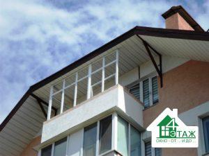 Остекление балконов в ЖК