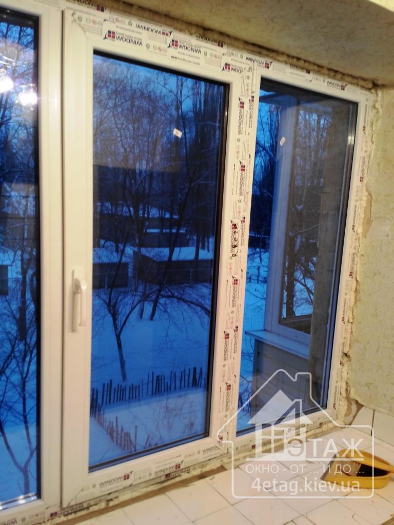 """Металопластикові вікна Windom ECO - компанія """"4 етаж"""""""