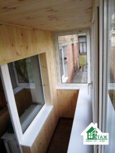 Остекление балкона под ключ в Василькове - ТМ