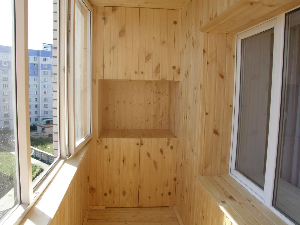 внутренняя отделка балкона Киев