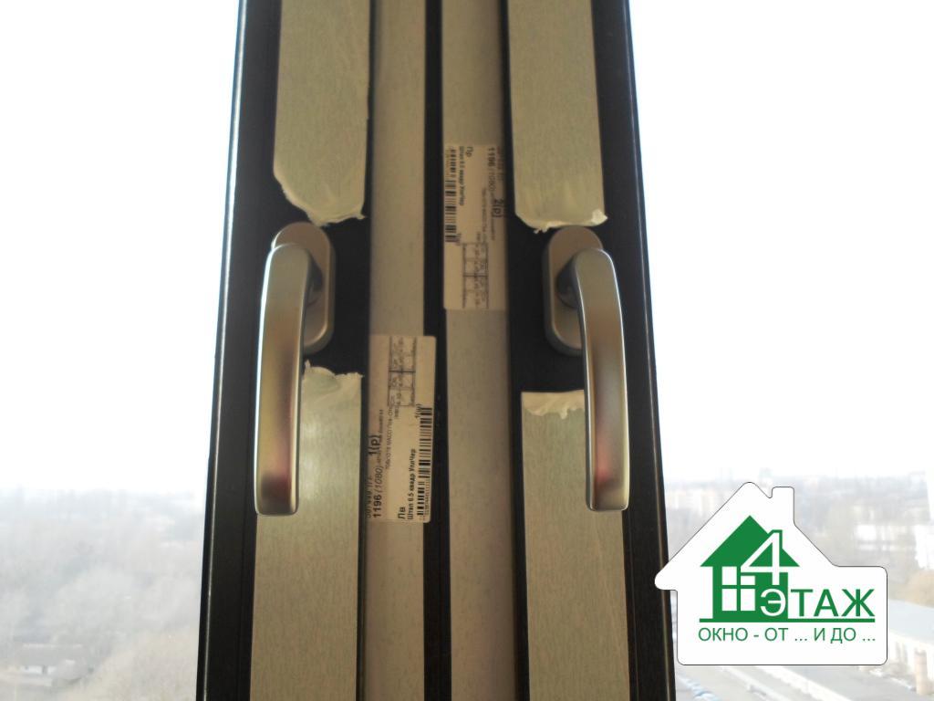 """Ламинированные окна ПВХ от фирмы """"4 этаж окно от и до"""""""