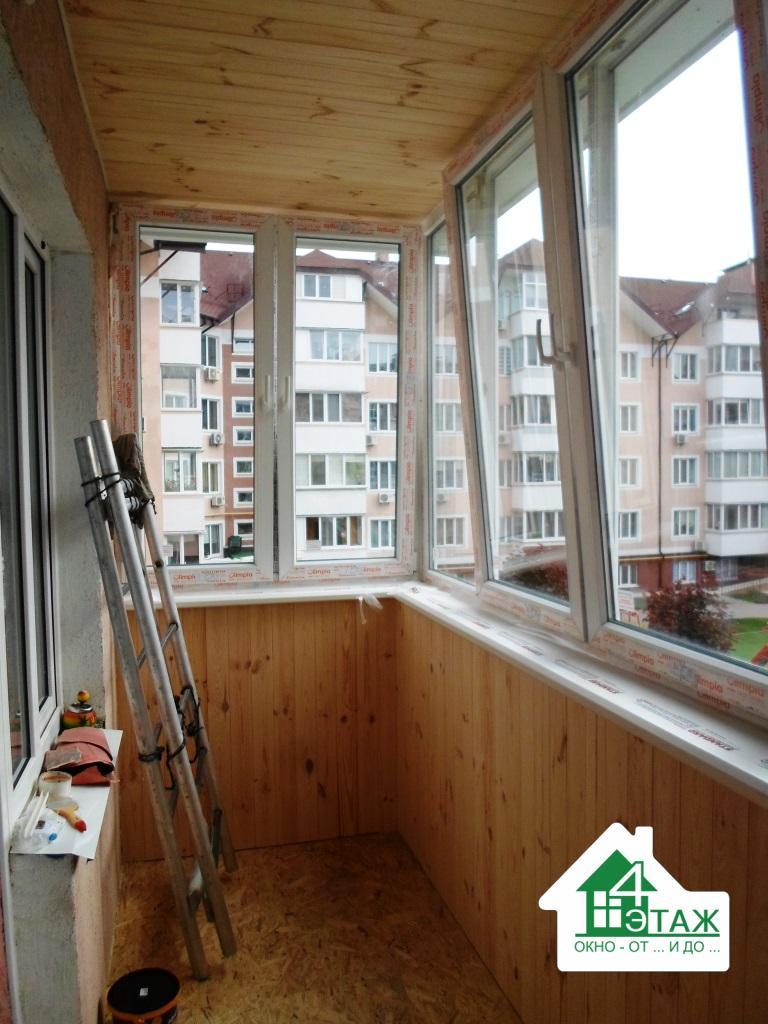 """Цены на остекление балконов в компании """"4 Этаж"""""""