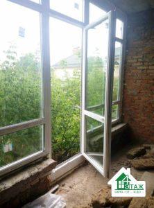 Остекление окнами Rehau Brillant