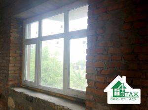 Пластиковые окна Rehau (Рехау) с фрамугой