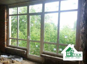 Металлопластиковые окна в рассрочку на коттедж Киев и пригород