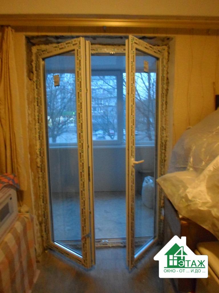 """""""4 этаж"""" Балконные двери"""
