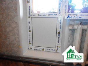 """Пластикові вікна OpenTeck, фото """"4 Этаж"""""""