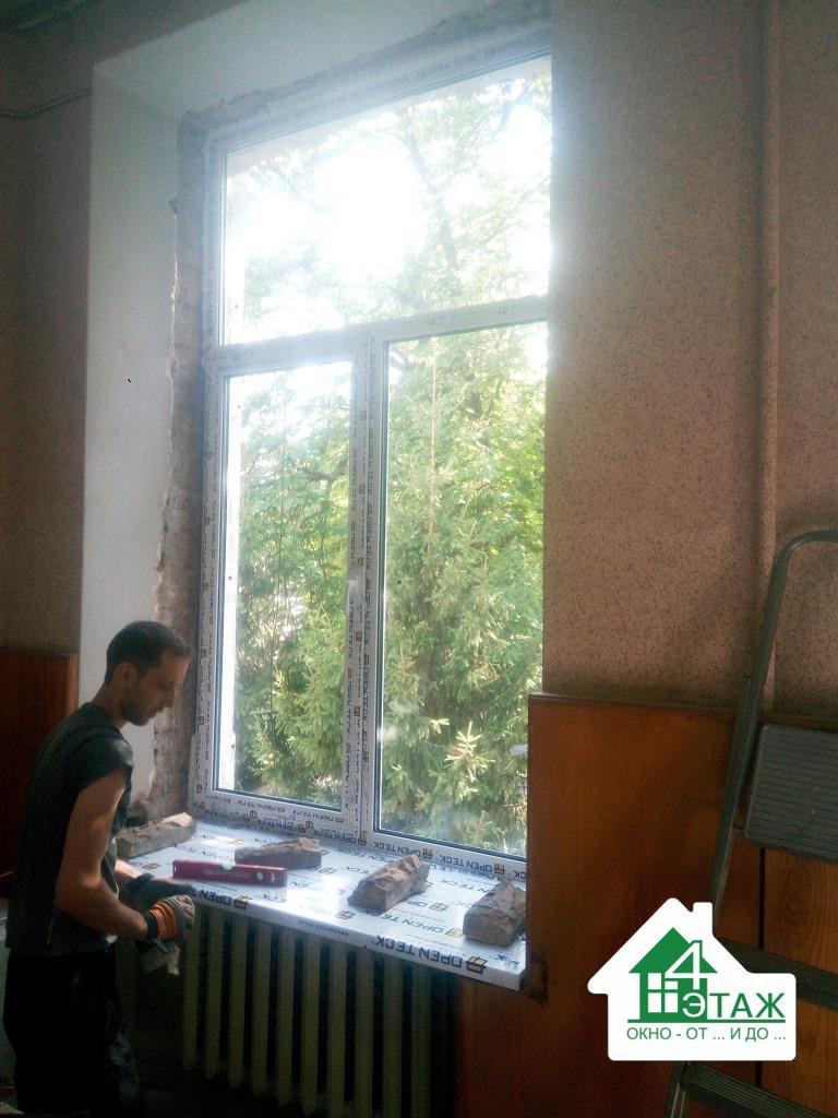 Недорогие окна ПВХ, профиль OpenTeck