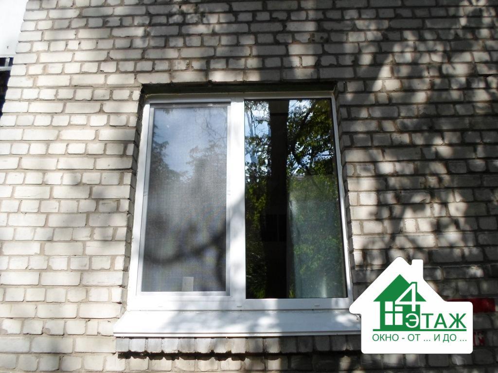 """Пластиковые окна дешево от компании """"4 Этаж"""""""
