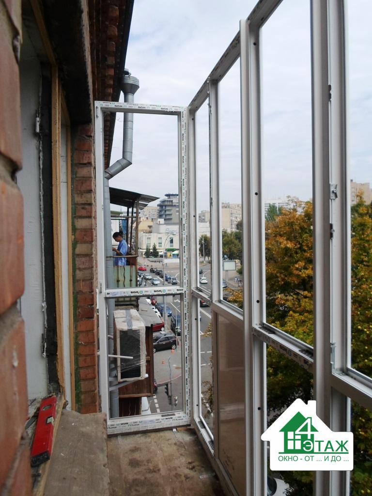 Балконы пластиковые в Киеве