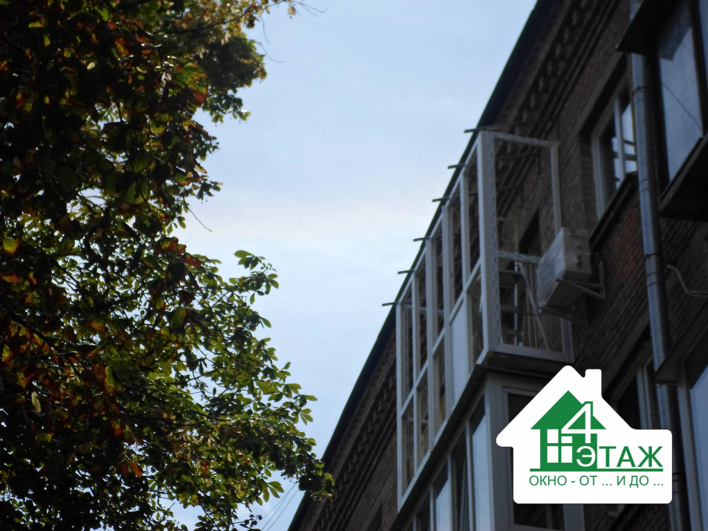 Пластиковые балконы в Киеве