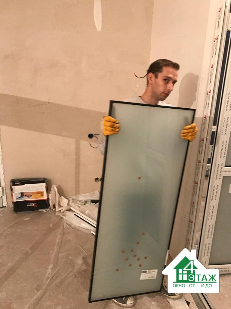 """Быстрая и грамотная замена стеклопакетов в окнах, фирма """"4 Этаж"""""""