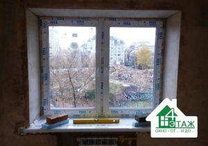 Окна Veka в Киеве, монтаж бригады №1