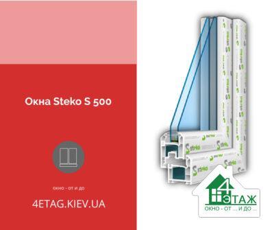 Окна Steko S 500