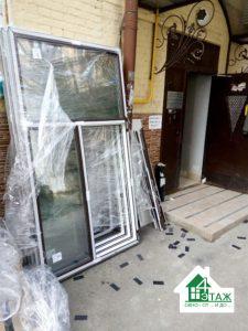Ламинированные окна в Киеве, монтаж фирмы