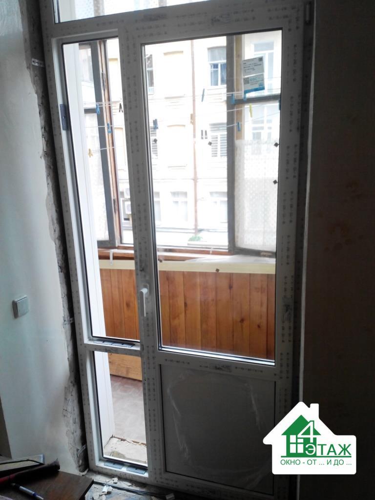 Балконные пластиковые двери в Киеве