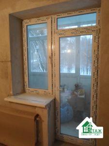 Купить балконные двери Киев с окном