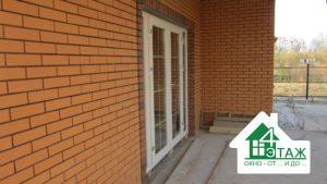 Входные металлопластиковые двери, фото бригады №5
