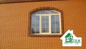 Нестандартные пластиковые окна - арочные