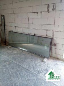 Замена стеклопакетов в загородном доме с. Вишеньки